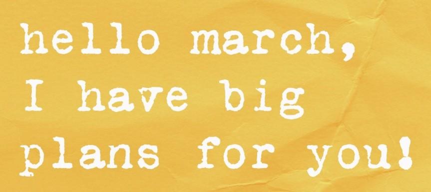 hello-march-blog